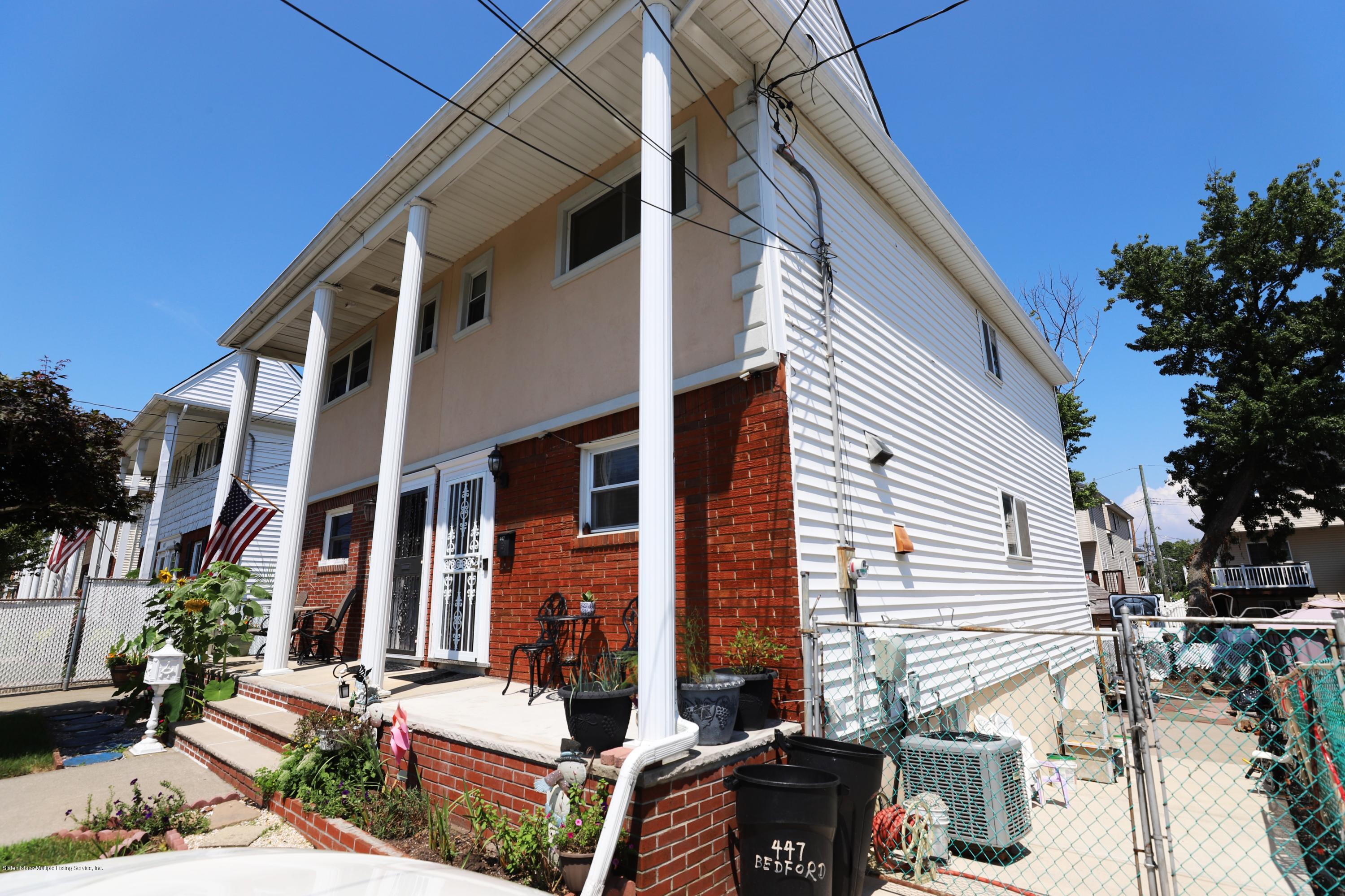 Single Family - Semi-Attached 447 Bedford Avenue  Staten Island, NY 10306, MLS-1131540-2