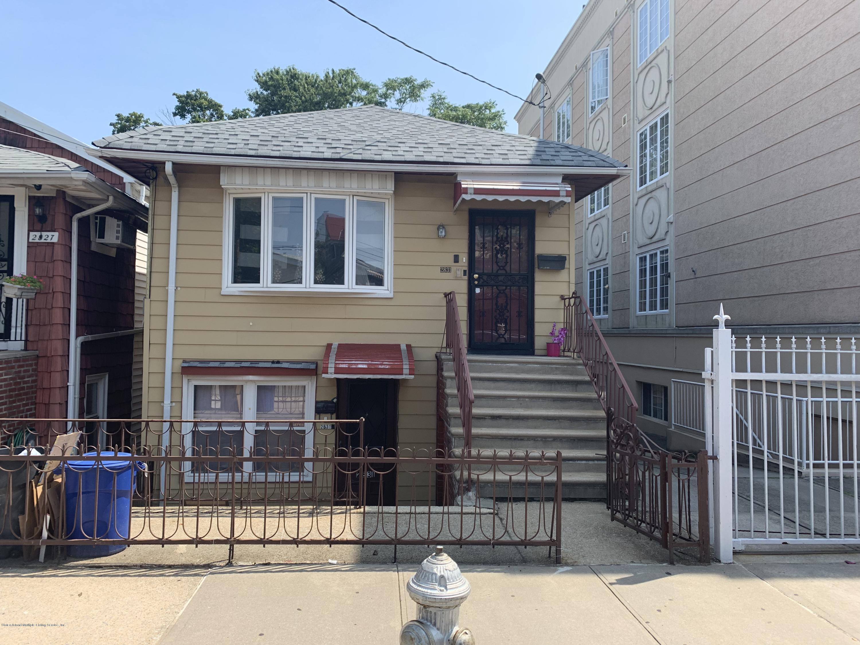 Two Family - Detached in Sheepshead Bay - 2831 Batchelder Street  Brooklyn, NY 11235
