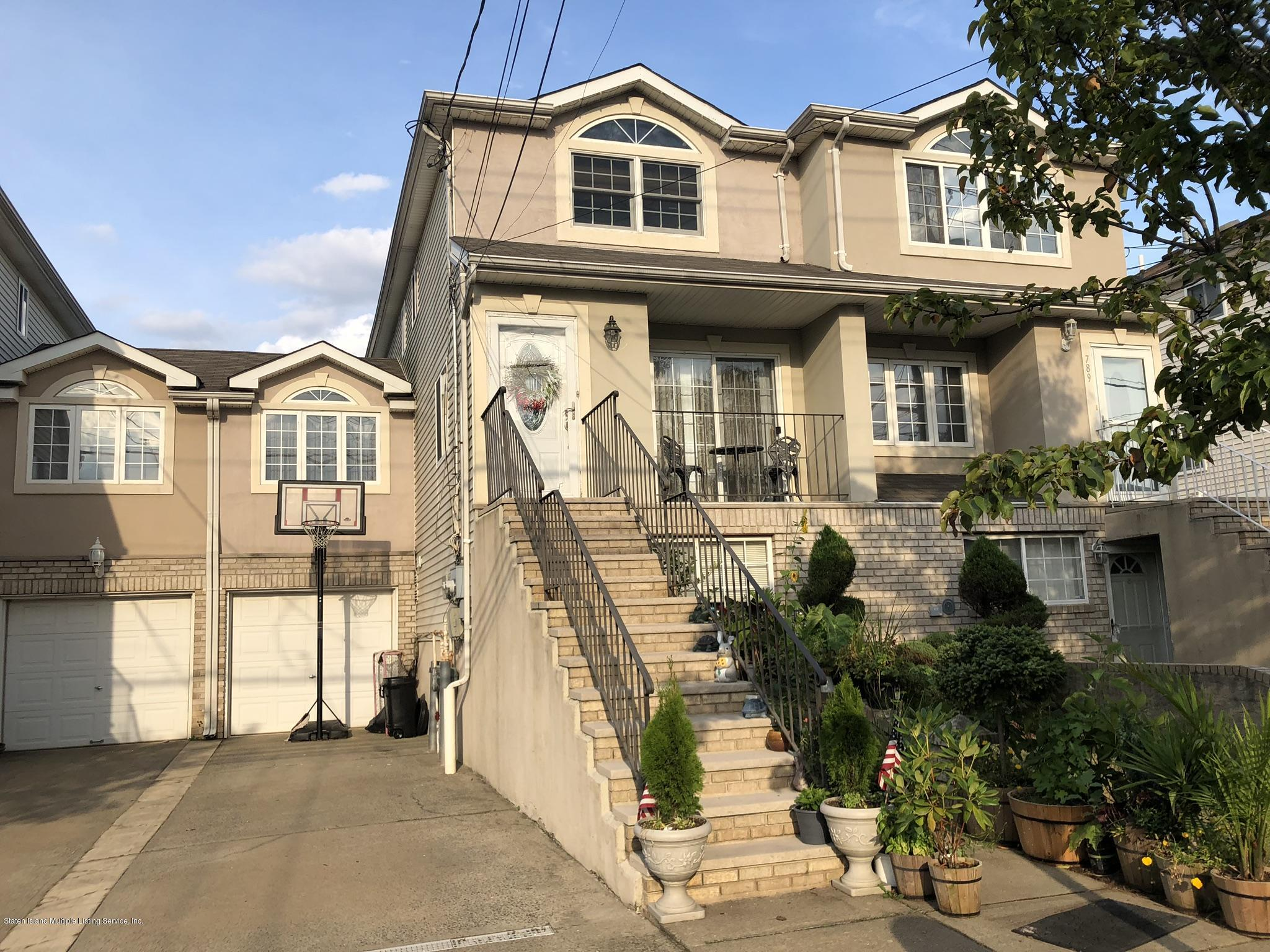 Two Family - Attached in Rossville - 791 Rossville Avenue  Staten Island, NY 10309