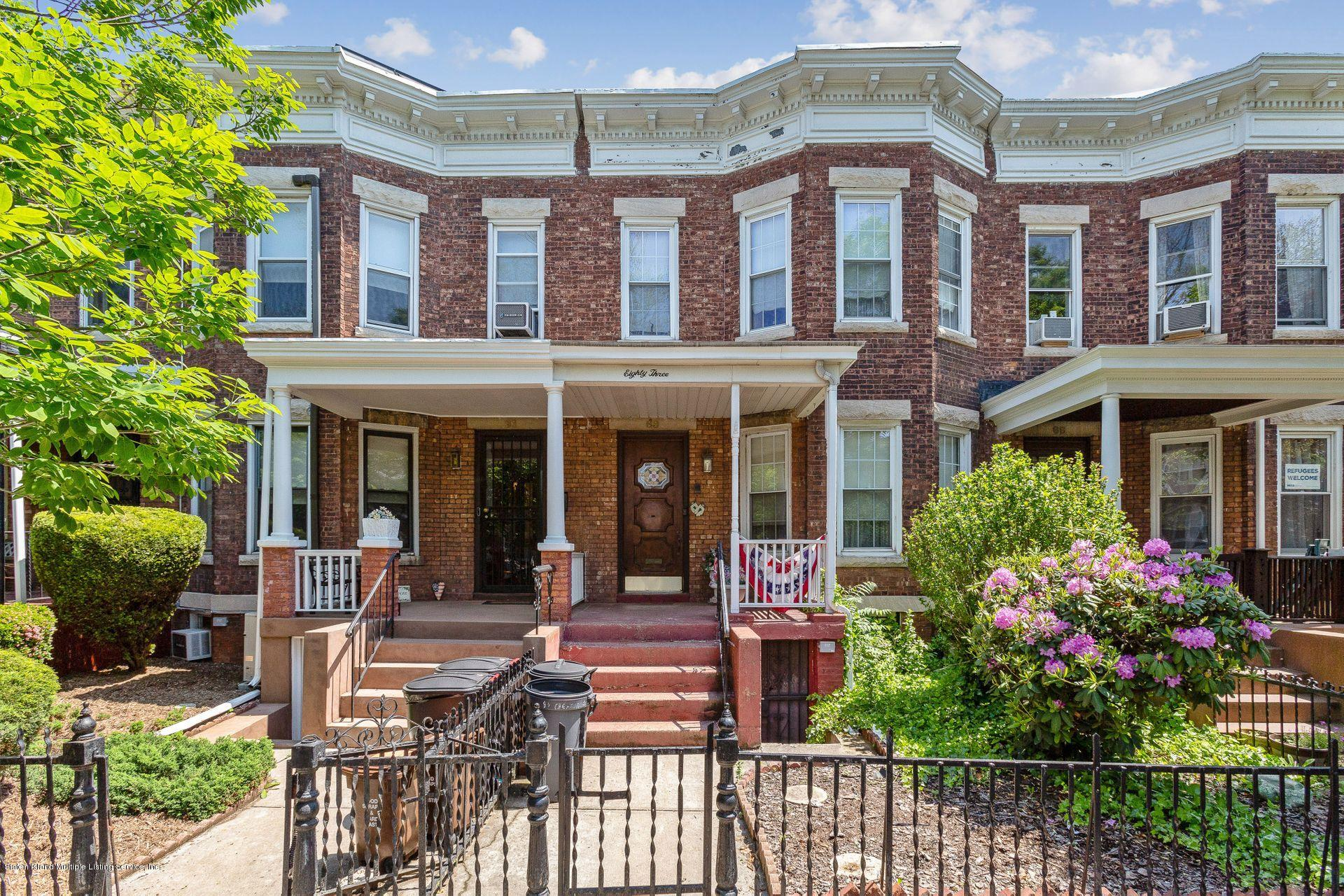 Single Family - Attached in Kensington - 83 Chester Avenue  Brooklyn, NY 11218