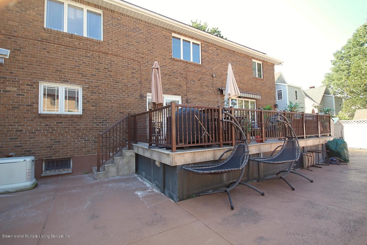 Two Family - Detached 195 Barclay Avenue  Staten Island, NY 10312, MLS-1131846-36