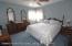 Large master bedroom on level 1