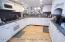 Huge kitchen in finished basement
