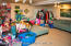 Roomy finished basement
