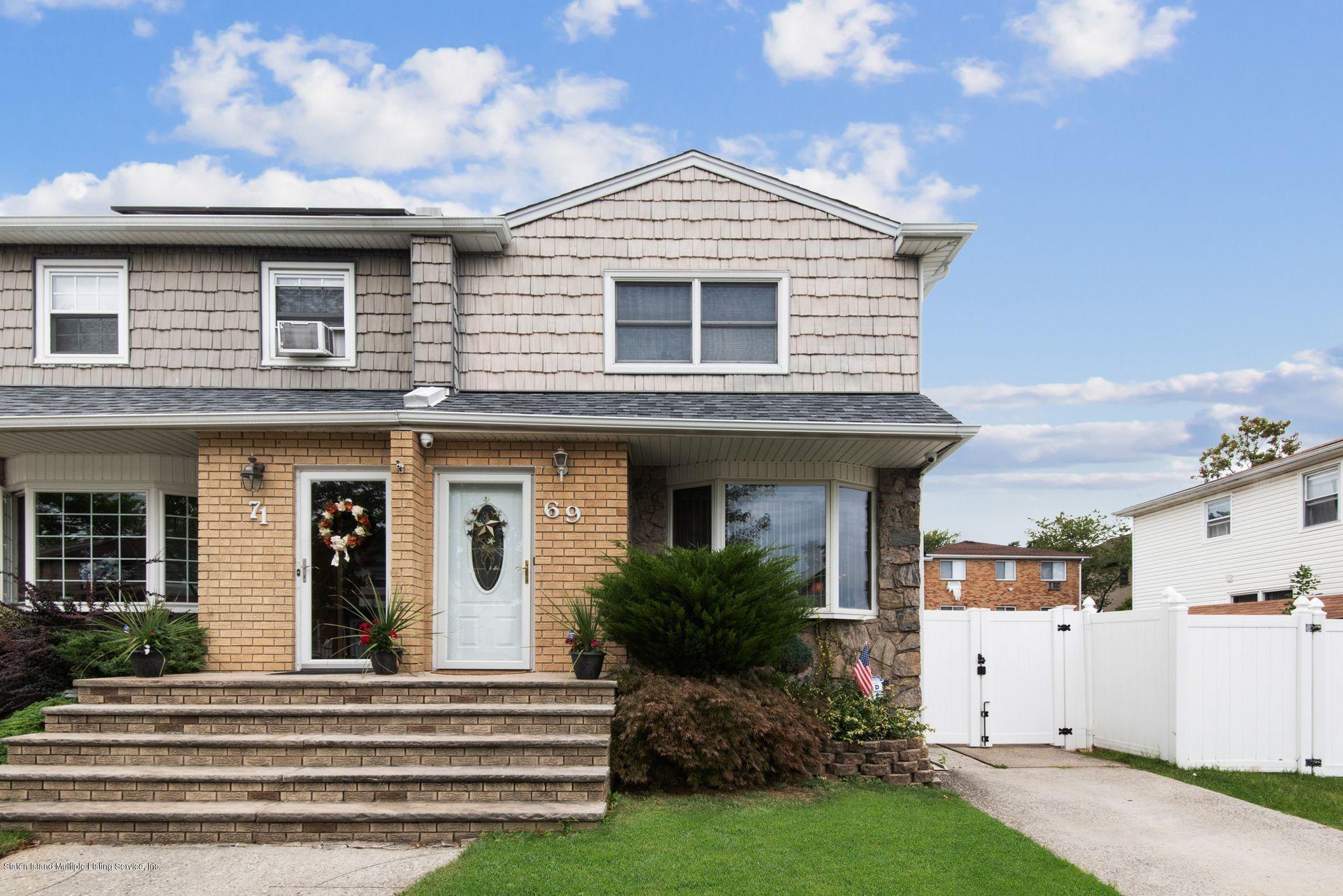 Single Family - Semi-Attached 69 Moffett Street  Staten Island, NY 10312, MLS-1131934-12