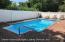 Beautiful I ground pool all pavers through yard