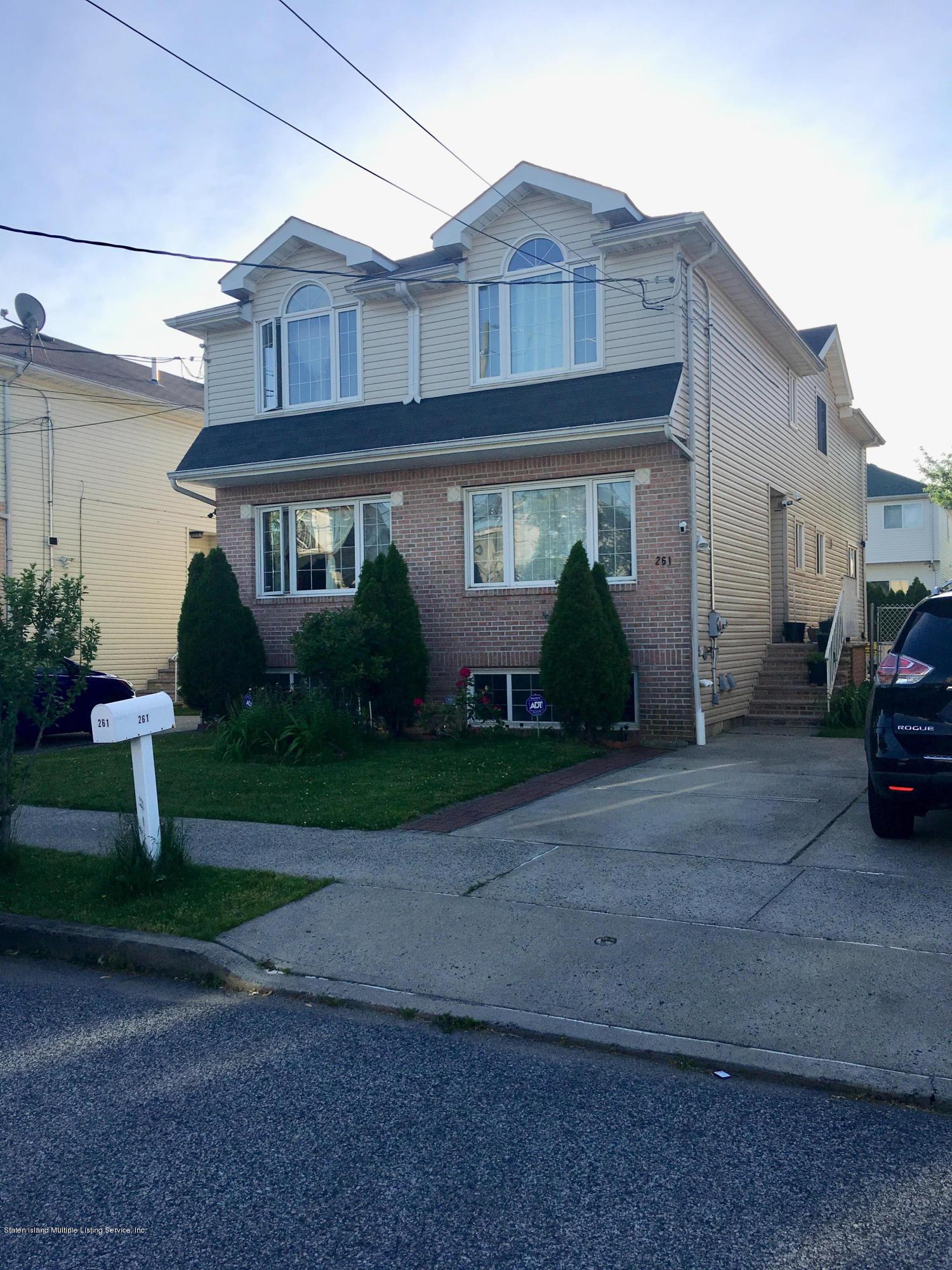 Single Family - Semi-Attached in Midland Beach - 261 Moreland Street  Staten Island, NY 10306