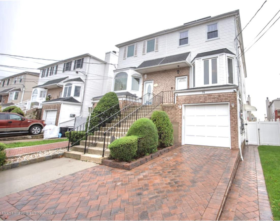 Single Family - Semi-Attached in New Springville - 76 Mcveigh Avenue  Staten Island, NY 10314