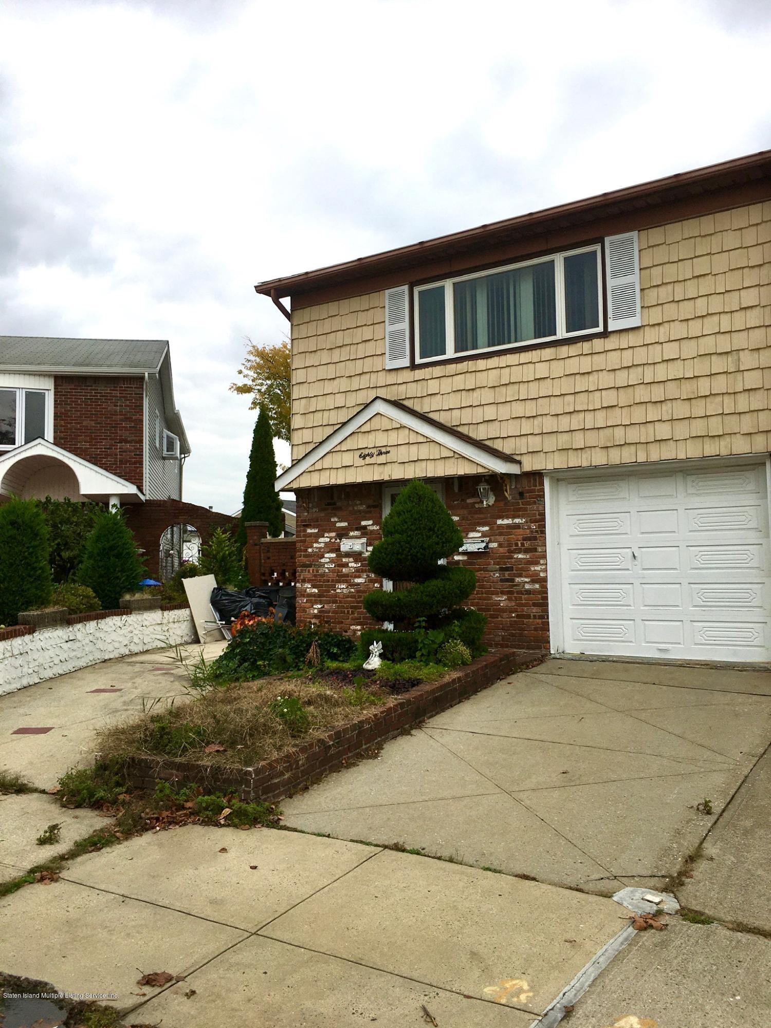 Two Family - Semi-Attached 83 Sunfield Avenue  Staten Island, NY 10312, MLS-1133415-2
