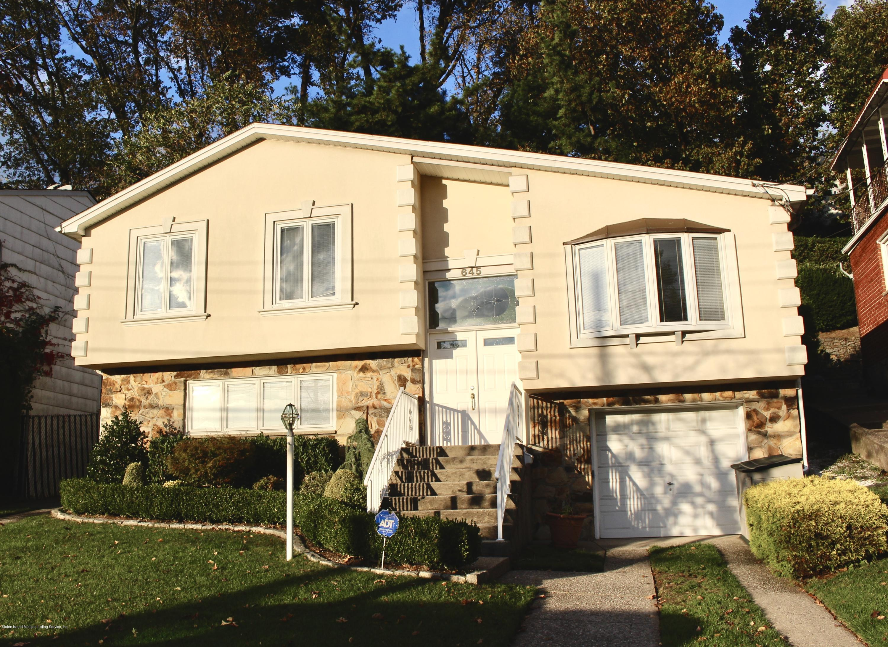 Two Family - Detached 645 Fingerboard Road  Staten Island, NY 10305, MLS-1133588-2
