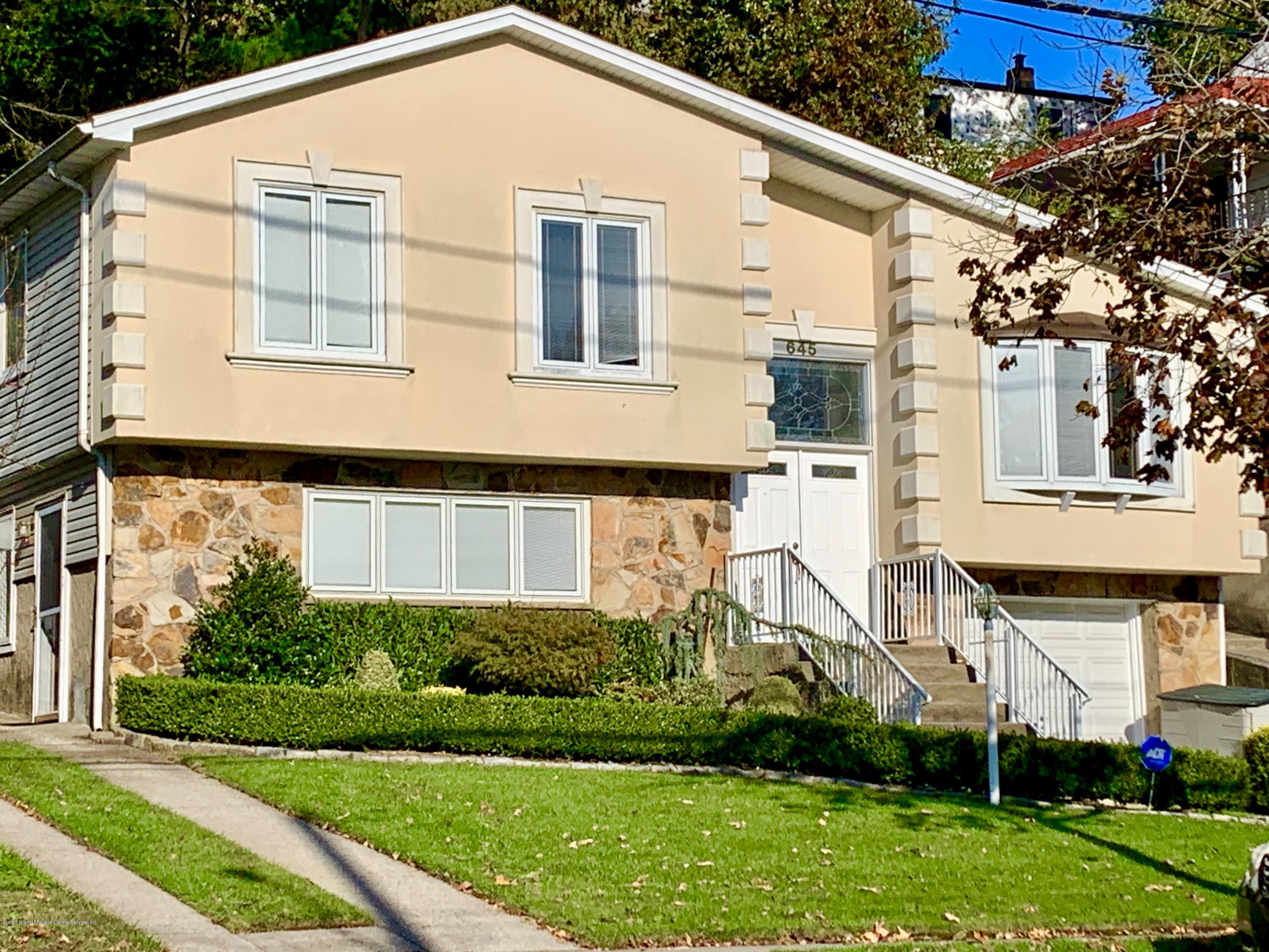 Two Family - Detached in Grasmere - 645 Fingerboard Road  Staten Island, NY 10305