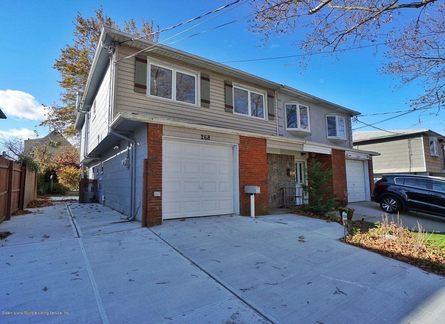 Single Family - Semi-Attached in Manor Heights - 268 Suffolk Avenue  Staten Island, NY 10314
