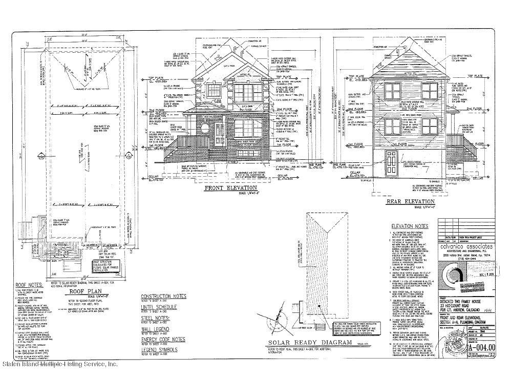 Two Family - Detached 23 Highmount Road   Staten Island, NY 10308, MLS-1133770-11