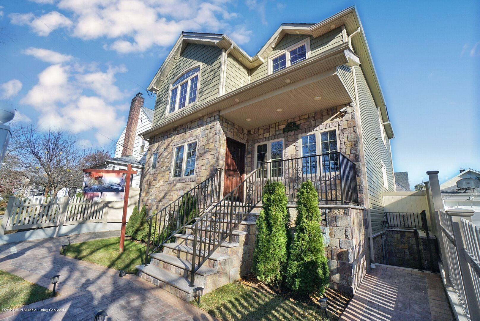 Single Family - Detached 165 Woolley Avenue  Staten Island, NY 10314, MLS-1128875-2
