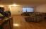 Living Room/Dining Combo with hard wood flooring