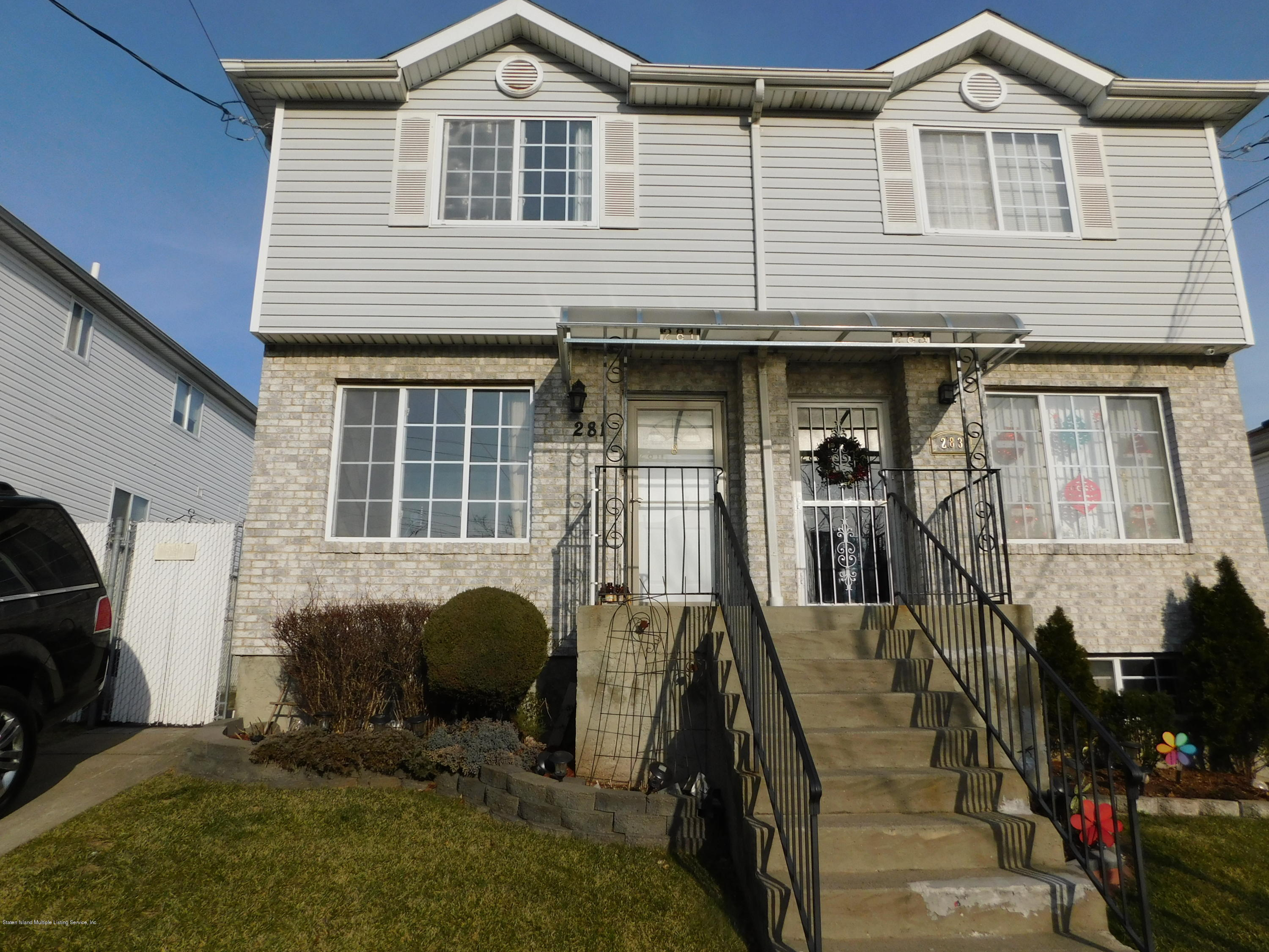 Single Family - Semi-Attached in Clifton - 281 Osgood Avenue  Staten Island, NY 10304