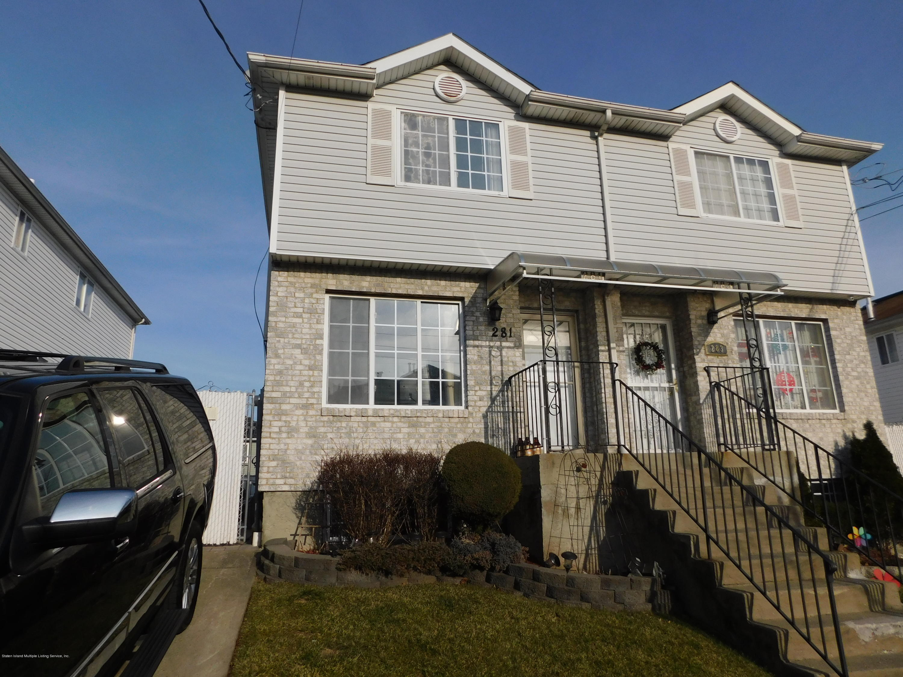 Single Family - Semi-Attached 281 Osgood Avenue  Staten Island, NY 10304, MLS-1134475-2