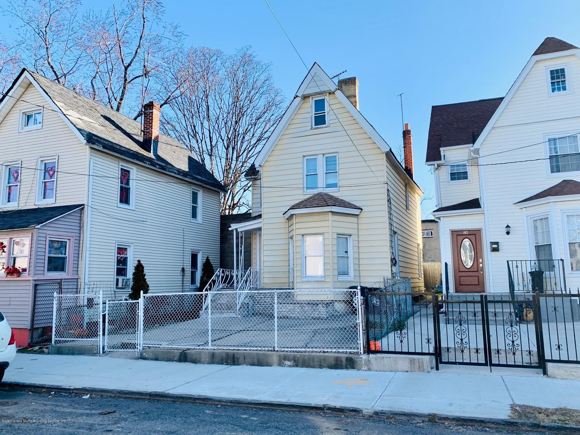 Single Family - Detached in Port Richmond - 83 Sharpe Avenue  Staten Island, NY 10302