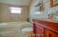 2ND FLOOR BATHROOM WITH JACUZZI TUB AND SEPERATE SHOWER STALL.