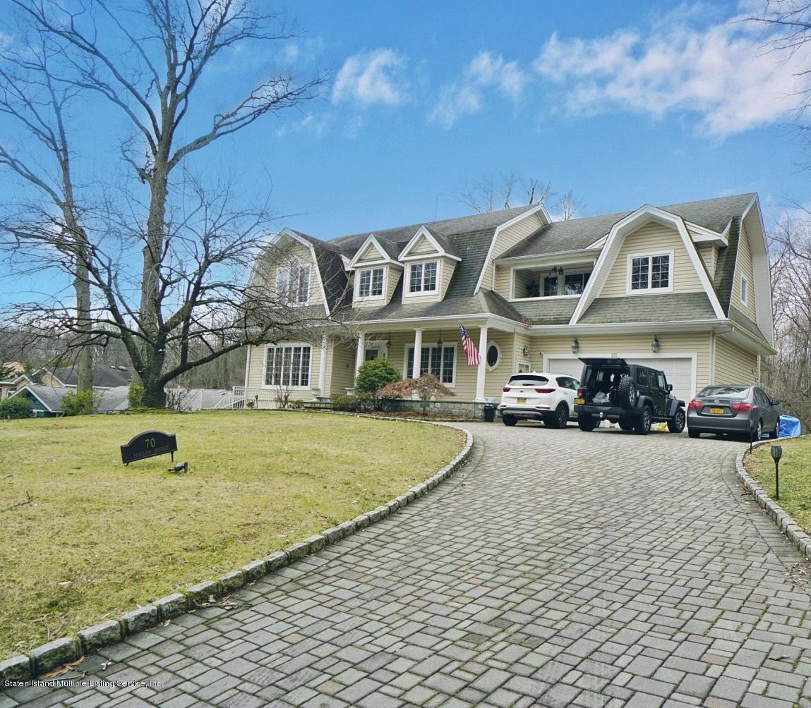 Two Family - Detached in S.E. Annadale - 70 Poillon Avenue  Staten Island, NY 10312