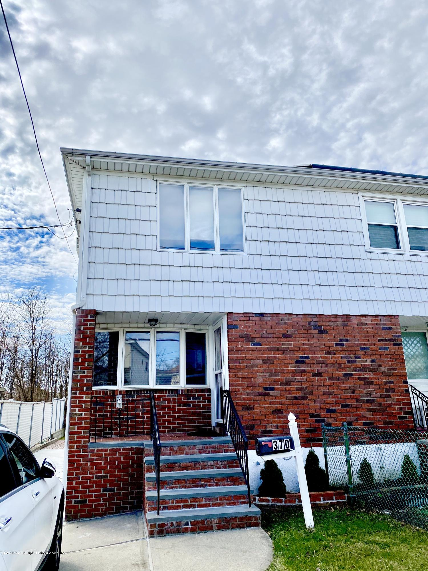 Single Family - Semi-Attached in Dongan Hills- Below Hylan - 370 Seaver Avenue  Staten Island, NY 10305