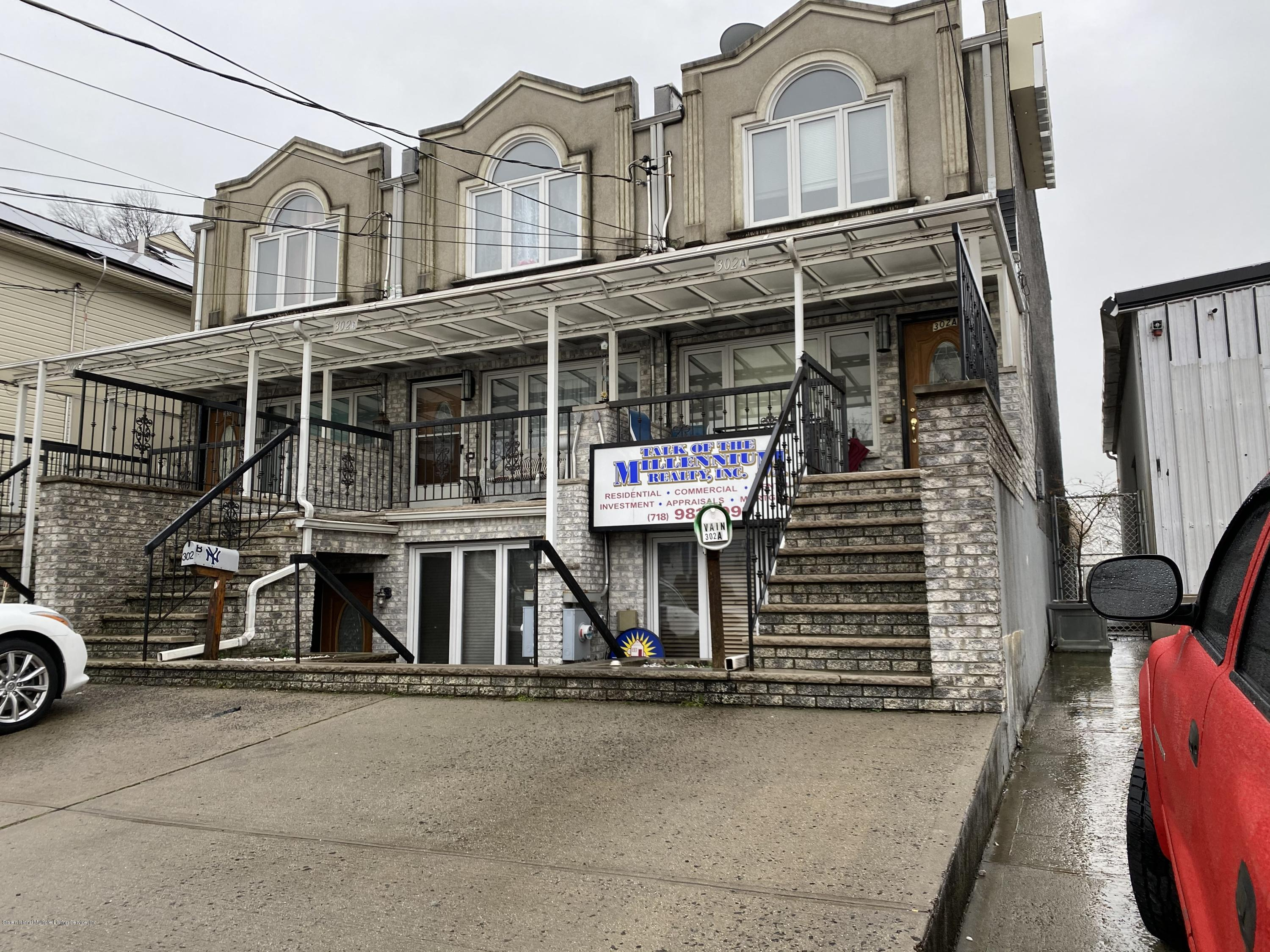 Commercial in Dongan Hills-Above Hylan - 302 Liberty Avenue B  Staten Island, NY 10305