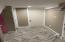 Hallway in basement
