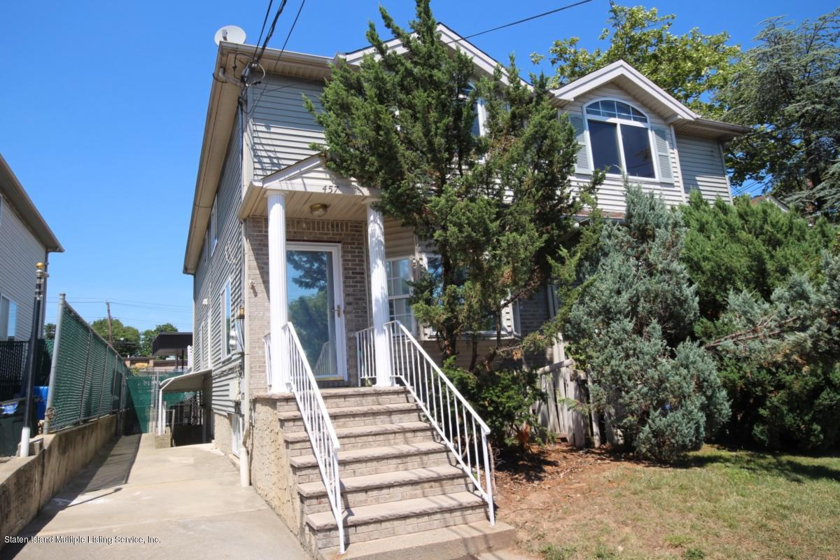 Two Family - Semi-Attached in Bulls Head - 457 Hillman Avenue  Staten Island, NY 10314