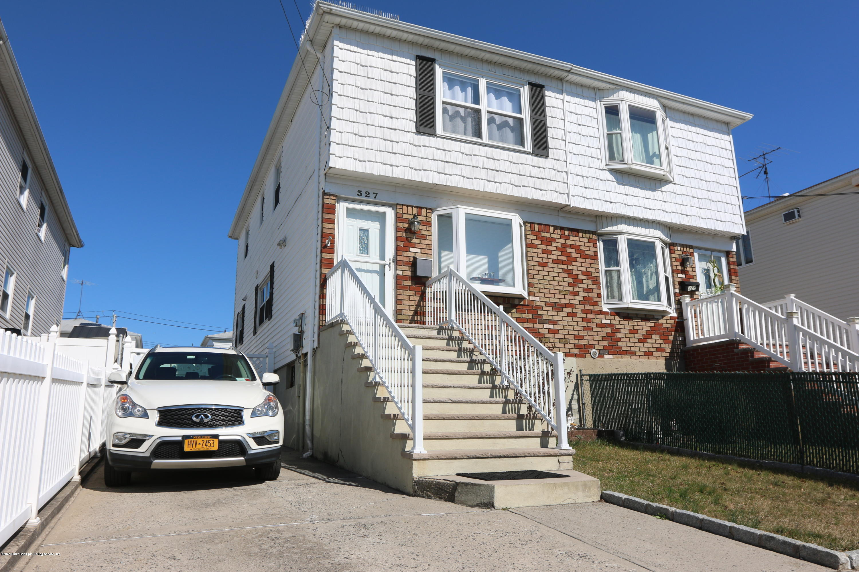 Single Family - Semi-Attached in Dongan Hills- Below Hylan - 327 Seaver Avenue  Staten Island, NY 10305