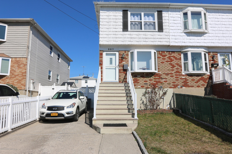 Single Family - Semi-Attached 327 Seaver Avenue  Staten Island, NY 10305, MLS-1137598-2