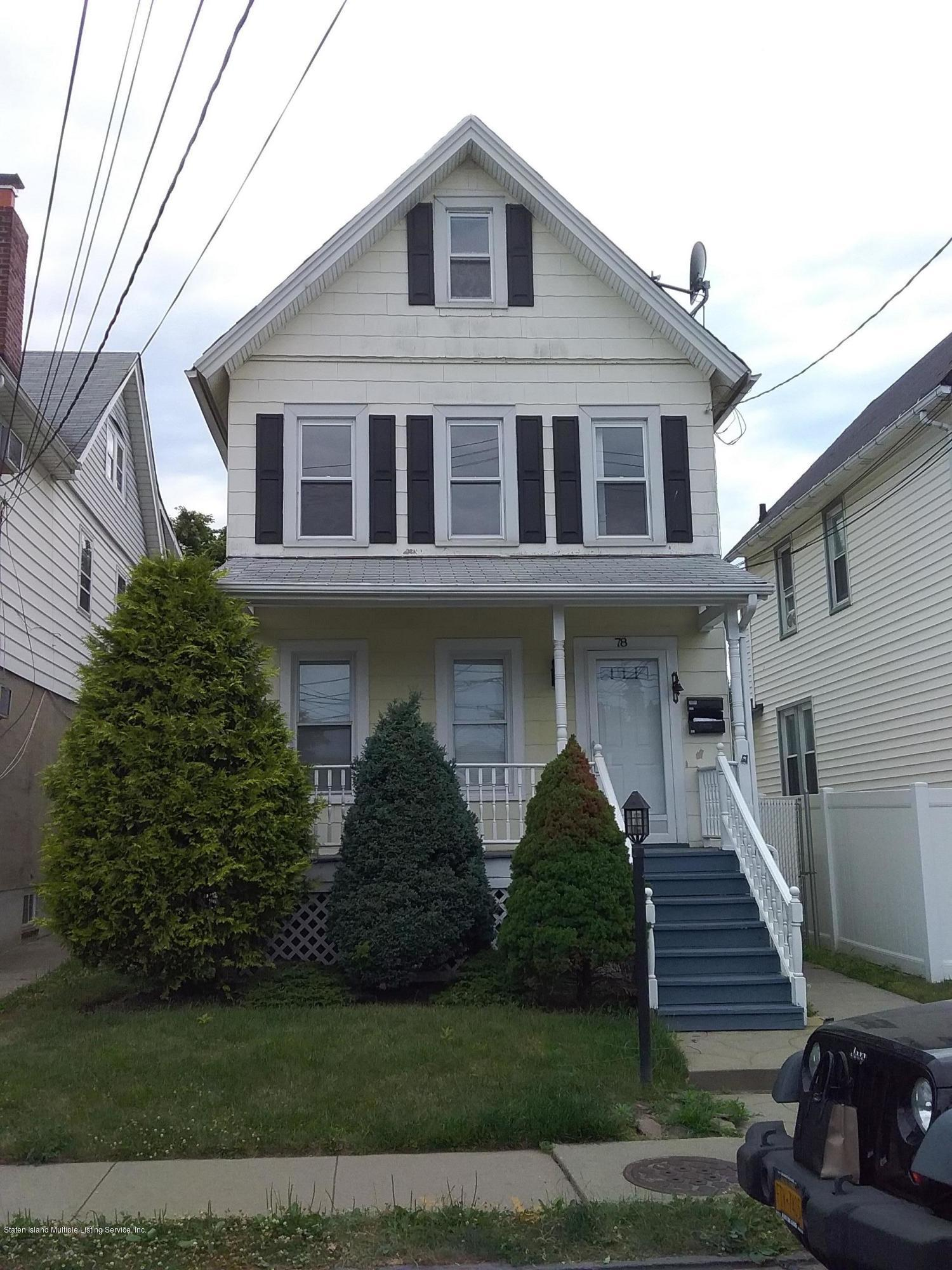 Two Family - Detached in Elm Park - 78 Housman Avenue   Staten Island, NY 10303