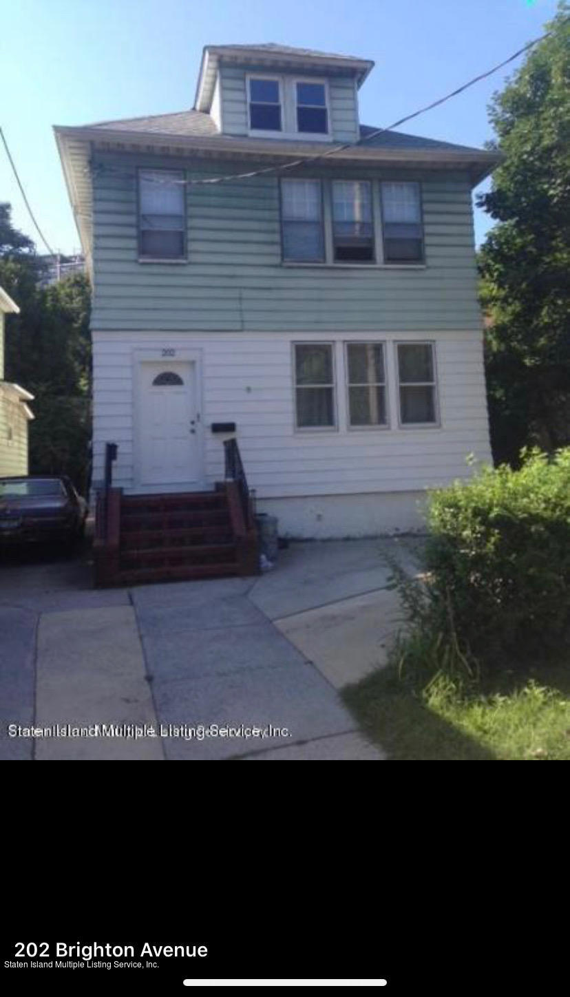 Two Family - Detached 202 Brighton Avenue  Staten Island, NY 10301, MLS-1139089-3