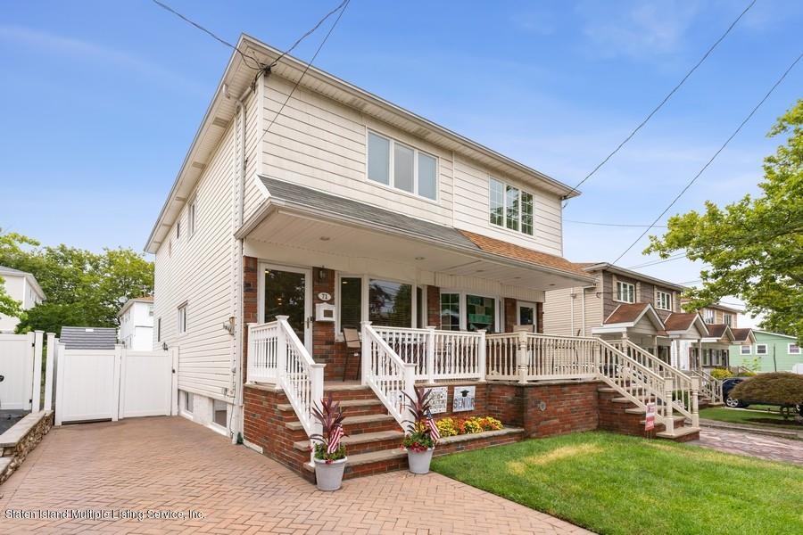 Single Family - Semi-Attached 71 Cranford Street  Staten Island, NY 10308, MLS-1139035-2