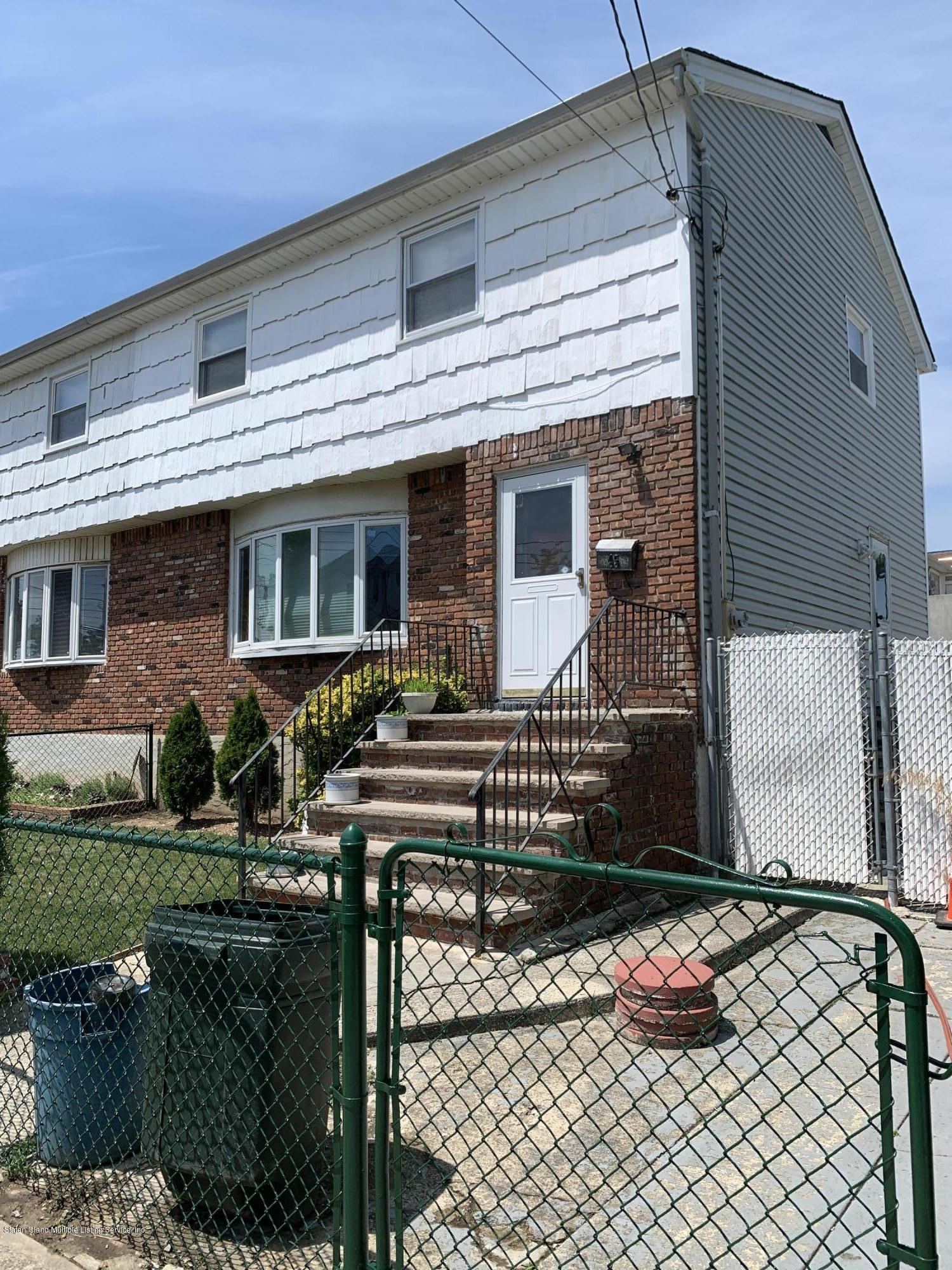 Single Family - Semi-Attached 45 Roma Avenue  Staten Island, NY 10306, MLS-1138173-2