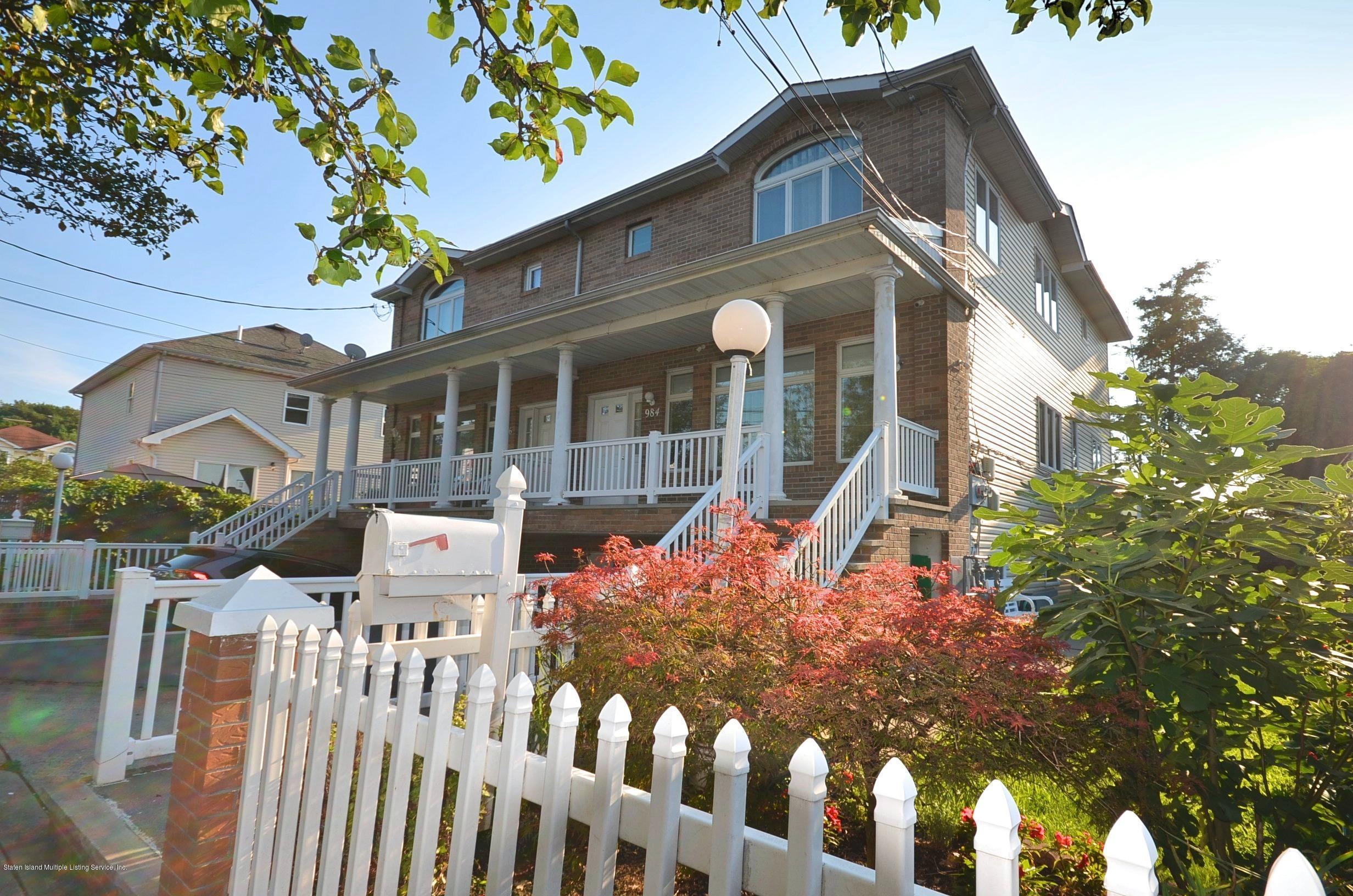 Two Family - Semi-Attached 984 Manor Road  Staten Island, NY 10314, MLS-1139616-3