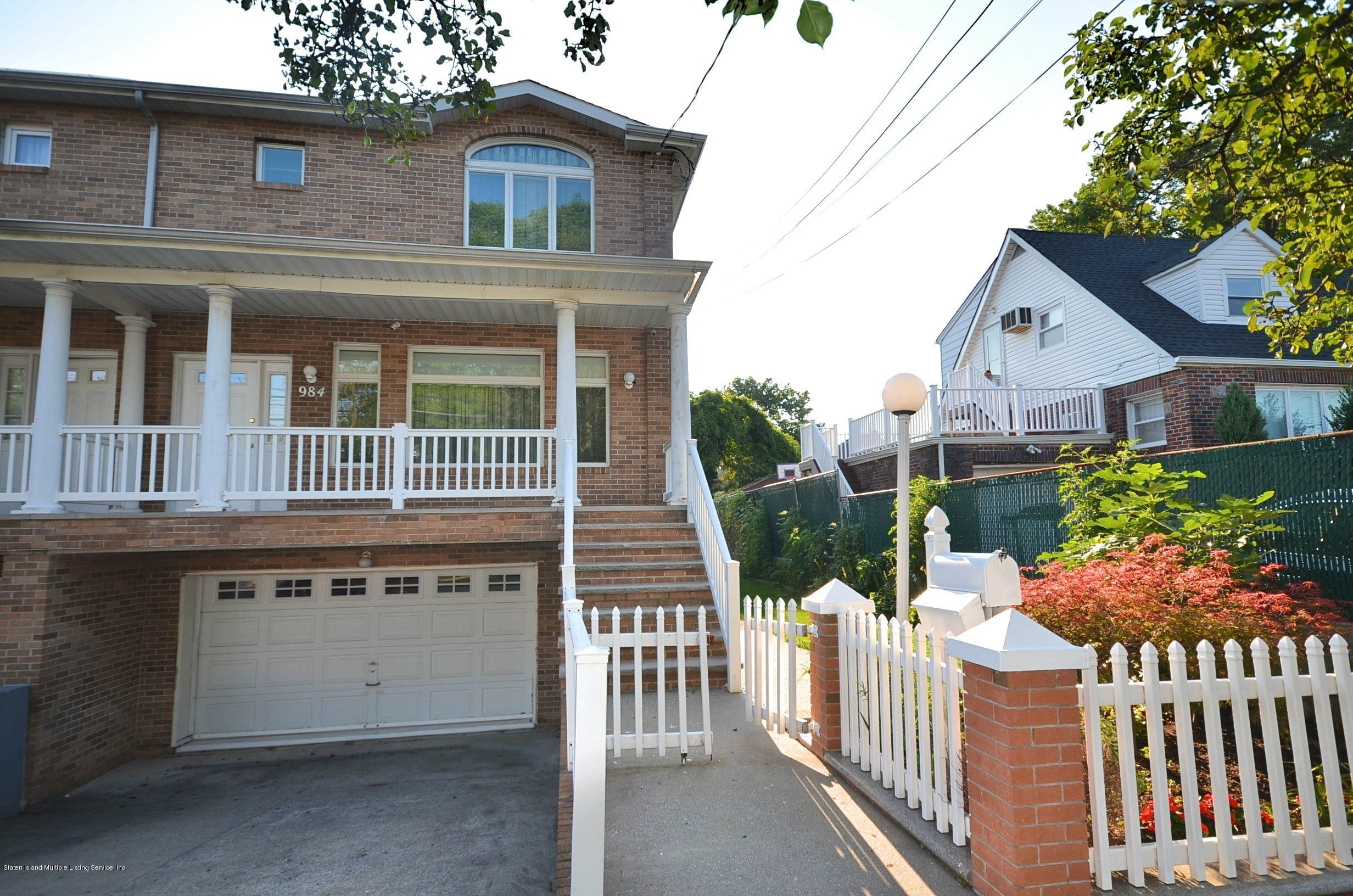 Two Family - Semi-Attached 984 Manor Road  Staten Island, NY 10314, MLS-1139616-2