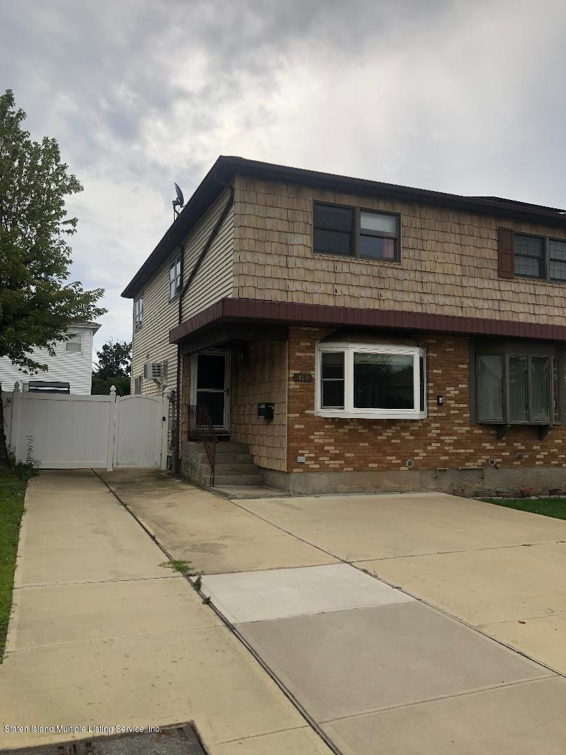 Single Family - Semi-Attached in Eltingville - 419 Pompey Avenue  Staten Island, NY 10312