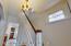 original Hanging foyer light...beautiful