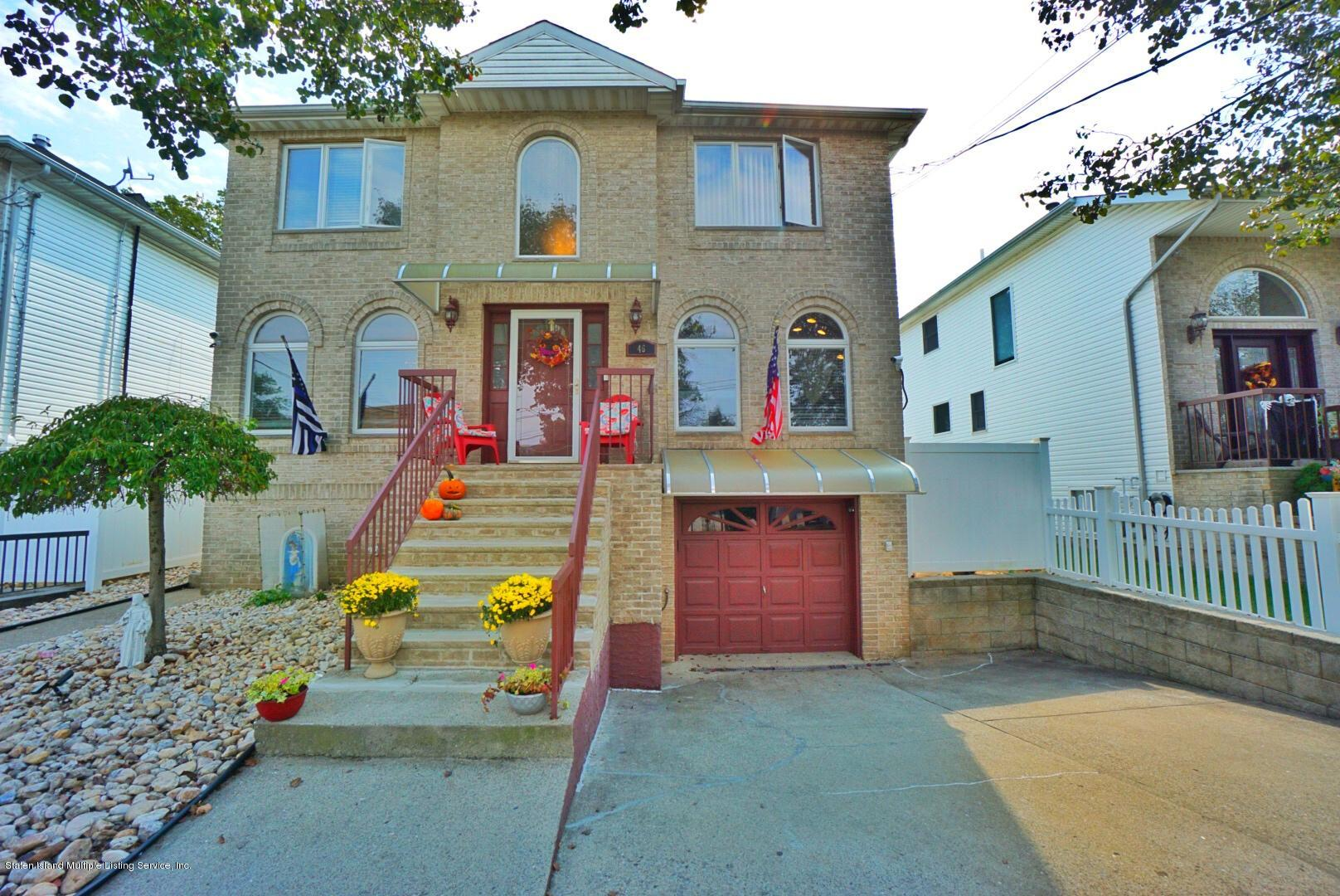Two Family - Detached in Rossville - 46 Morris Street  Staten Island, NY 10309