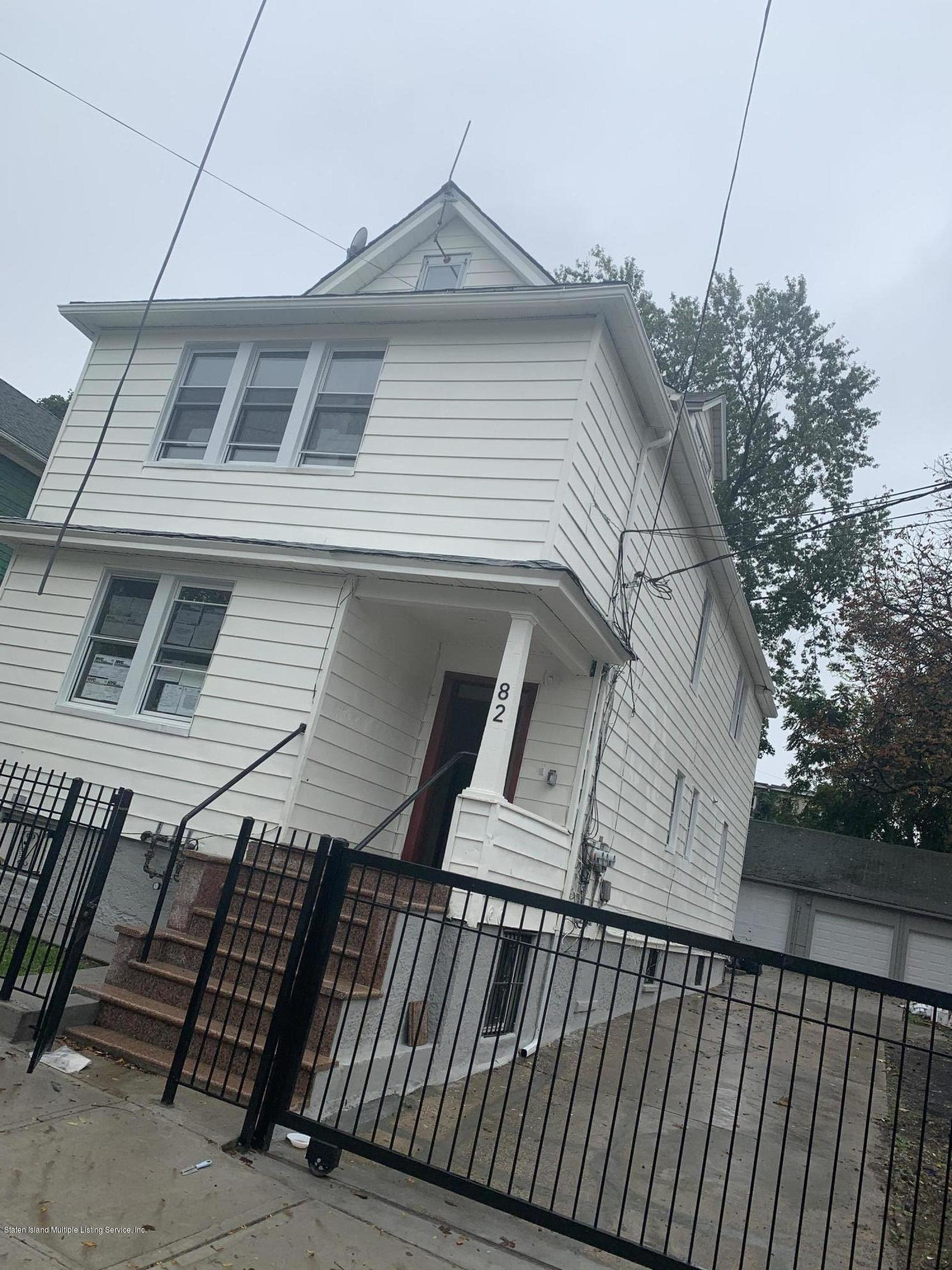 Two Family - Detached 82 Laurel Avenue  Staten Island, NY 10304, MLS-1141597-2