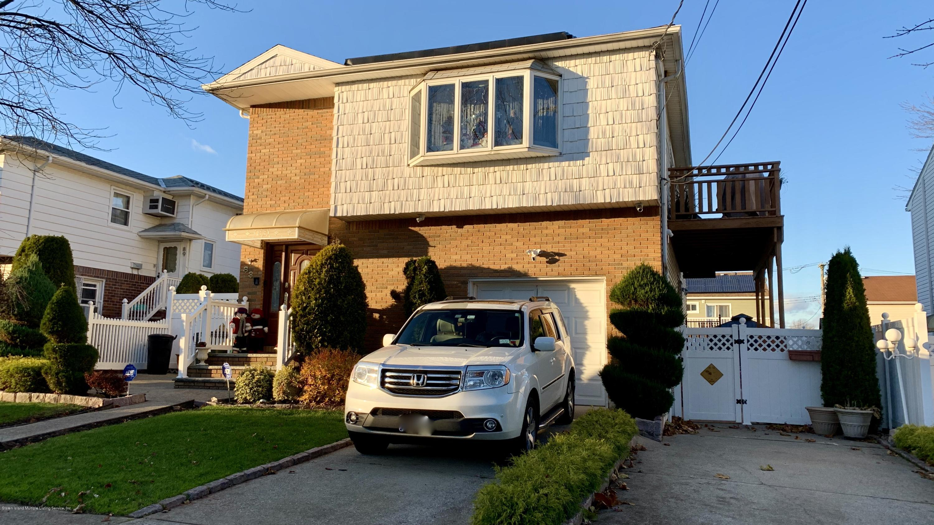 Two Family - Detached 83 Augusta Avenue  Staten Island, NY 10312, MLS-1142345-2
