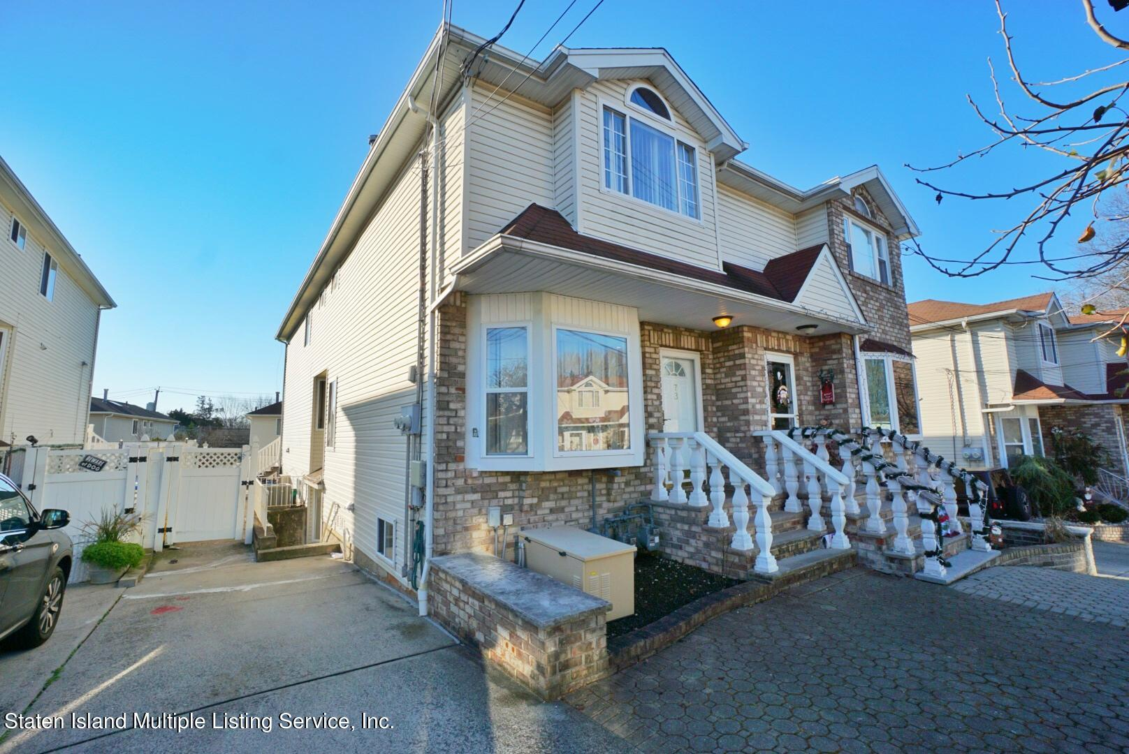 Two Family - Semi-Attached 73 Seguine Loop  Staten Island, NY 10309, MLS-1142582-2