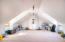 massive attic serves as 3rd bedroom