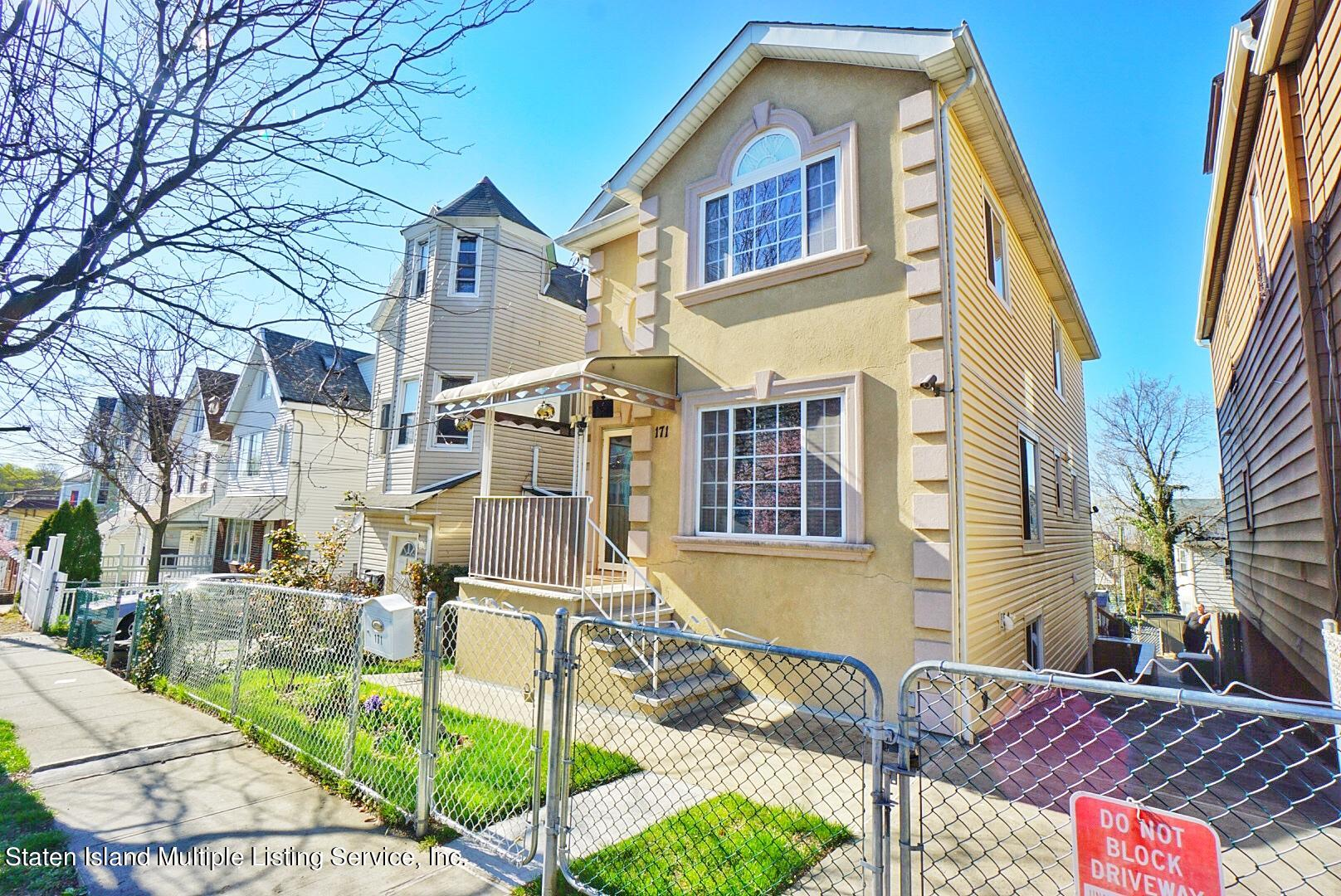 Single Family - Detached 171 Benziger Avenue  Staten Island, NY 10301, MLS-1145235-2