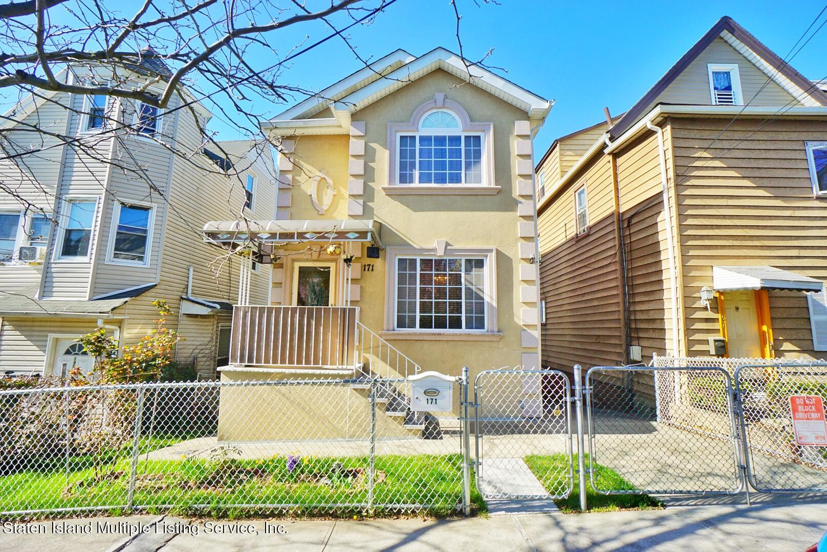 Single Family - Detached in St. George - 171 Benziger Avenue  Staten Island, NY 10301