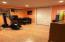 basement office/gym