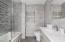 Master Bathroom with Radiant Heated Tile Floors
