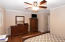 2nd. view of Extra Large Master Bedroom with Closets