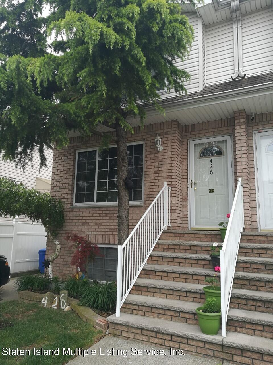 Two Family - Semi-Attached in Dongan Hills- Below Hylan - 426 Raritan Avenue  Staten Island, NY 10305