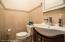 1/2 Bath on Main Floor